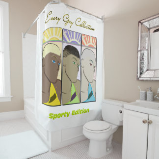 Every Guy Collection: Sporty Edition Shower Curtain