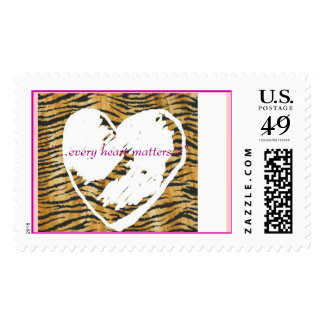 Every Heart Matters Postage Stamps