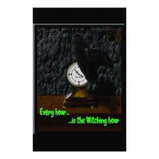 Every Hour...Is the Witching Hour Stationery