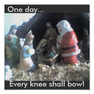 Every knee shall bow Print