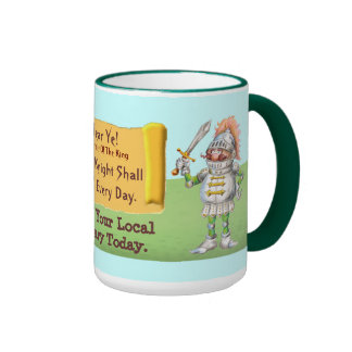 Every Knight Shall Read Every Day Coffee Mug