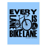 Every Lane A Bike Lane Post Cards