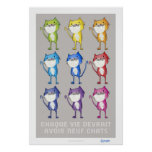 Every life should have nine cats poster