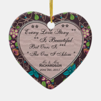 Every Love Story Gift Heart Ornament