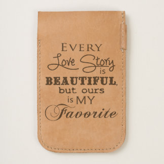 """""""Every Love Story Is Beautiful But Ours..."""" Quote iPhone 6/6S Case"""