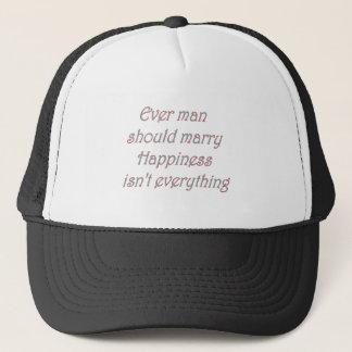 every man should marry trucker hat