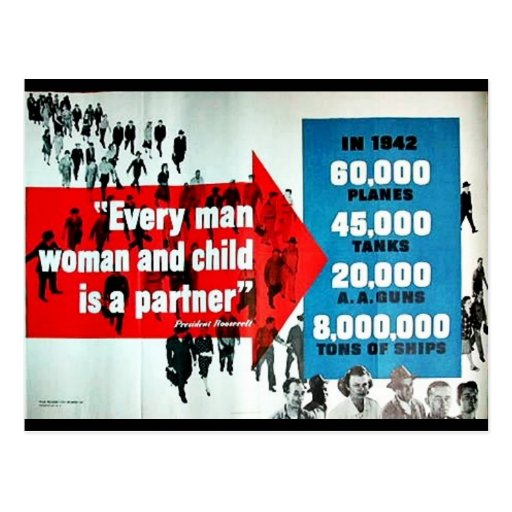 Every Man Woman And Child Postcard