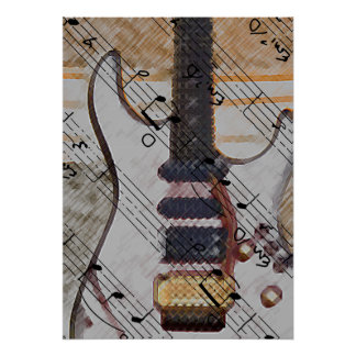 Every Mans Guitar Poster