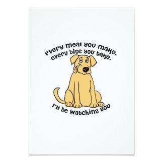 Every meal you make Labrador Retriever Card