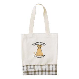 Every meal you make Labrador Retriever Zazzle HEART Tote Bag
