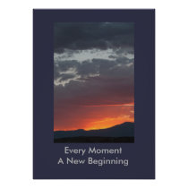 Every Moment a New Beginning Poster