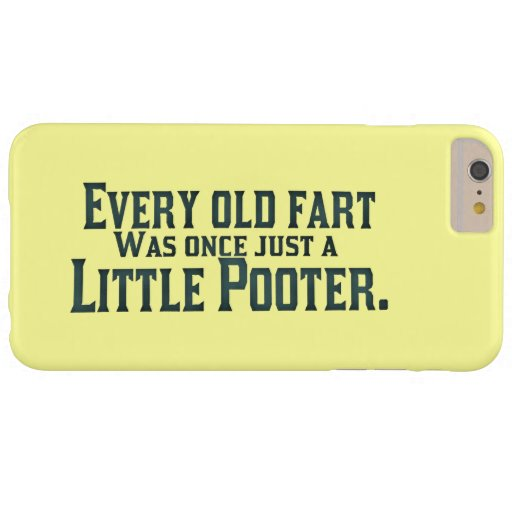 Every Old Fart Was Once Just A Little Pooter Blackberry Bold Case