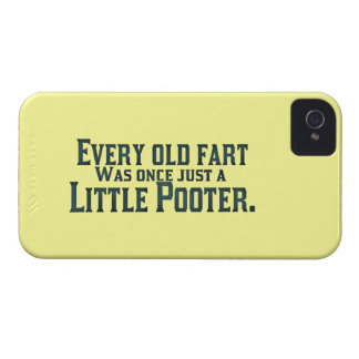 Every Old Fart Was Once Just A Little Pooter Case-Mate iPhone 4 Case