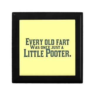 Every Old Fart Was Once Just A Little Pooter Gift Box