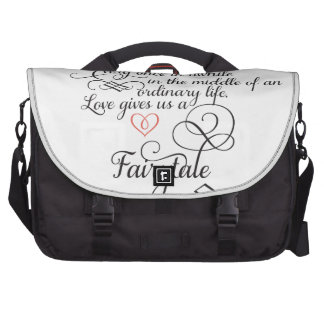 Every once in awhile in an ordinary life laptop messenger bag