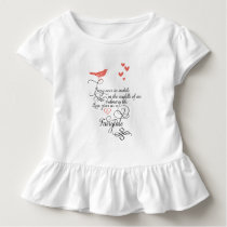 Every once in awhile in an ordinary life. toddler t-shirt