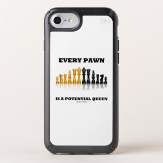 Every Pawn Is A Potential Queen Chess Saying Humor Speck iPhone Case