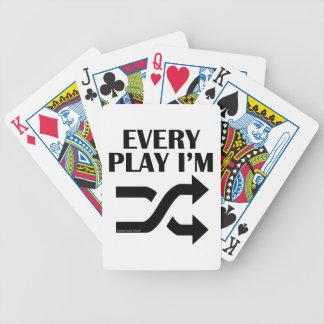 Every Play I m Shufflin Bicycle Card Deck