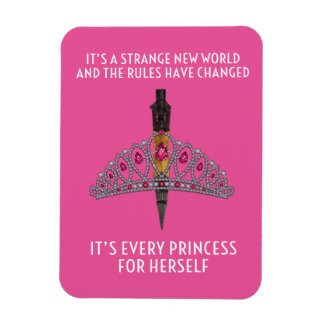 "Every Princess Pink 3""x4"" Photo Magnet"