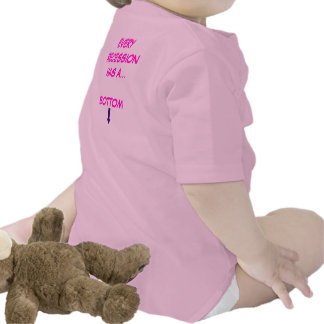 Every Recession Has A Bottom Baby Bodysuit