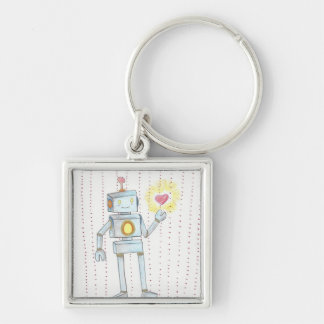 Every Robot has a Heart or a Soul Empathy Keychain