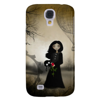 Every Rose Has It's Thorn Steampunk Art Samsung Galaxy S4 Case