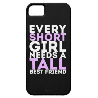 Every Short Girl Needs A Tall Best Friend iPhone 5 Cases