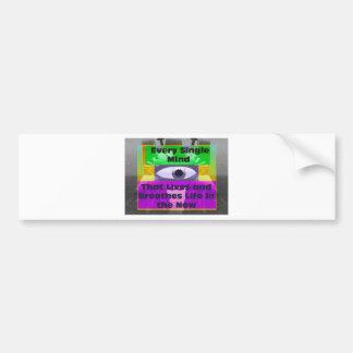 Every Single Mind Bumper Sticker