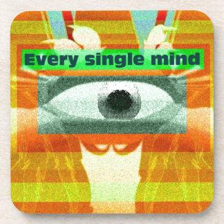 Every single mind beverage coaster
