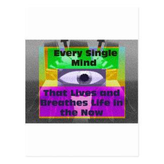 Every Single Mind Postcard