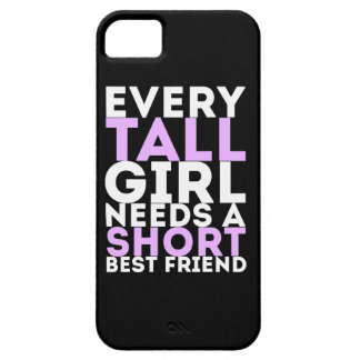 Every Tall Girl Needs A Short Best Friend iPhone SE/5/5s Case