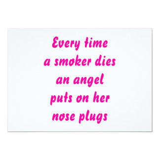 Every time a smoker dies card