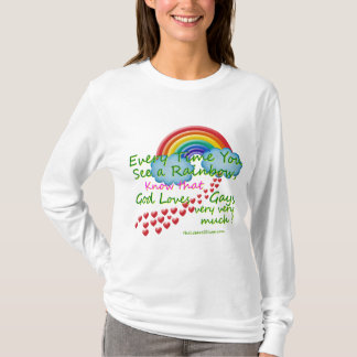 Every time You see A Rainb Women's Long Sleeve T-Shirt