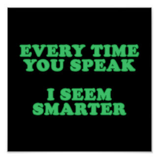 Every Time You Speak Poster