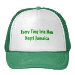 Every Ting Irie Mon Negri Jamaica Trucker Hats