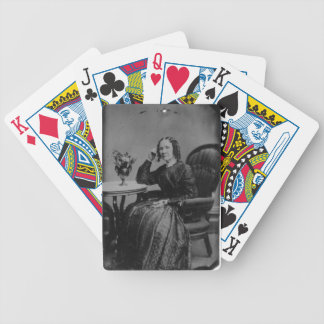 """Every Tintype Ever"" The Classic Lady Tintype Poker Cards"