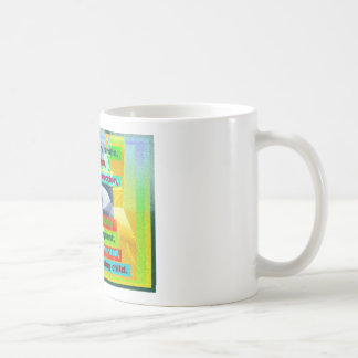 Every tree planted and every starving child coffee mug