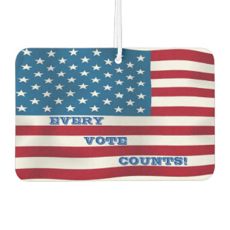 Every Vote Counts! - Air Freshener