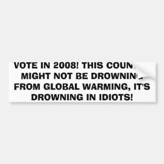 EVERY VOTE COUNTS BUMPER STICKER