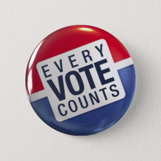 Every Vote Counts Election Button