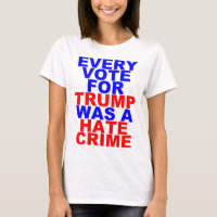 Every Vote For Trump = Hate Crime (Light For Her)