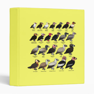 Every Vulture 3 Ring Binder