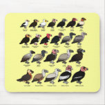 Every Vulture Mouse Pad