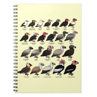 Every Vulture Spiral Notebook