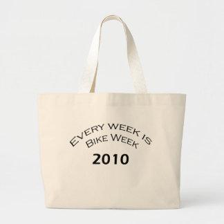 Every Week Is Bike Week  2010 Tote Bag