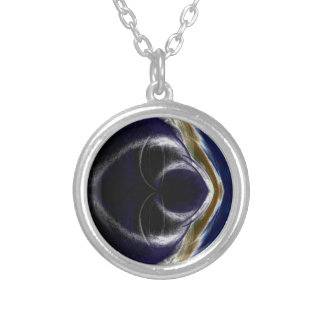 every where its night silver plated necklace