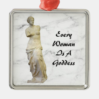 Every Woman Metal Ornament