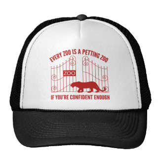 Every Zoo Is A Petting Zoo Mesh Hats