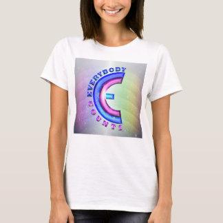 Everybody Counts (TM) Women's Basic T-Shirt