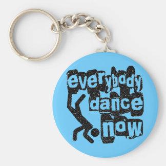 Everybody Dance Now Keychain